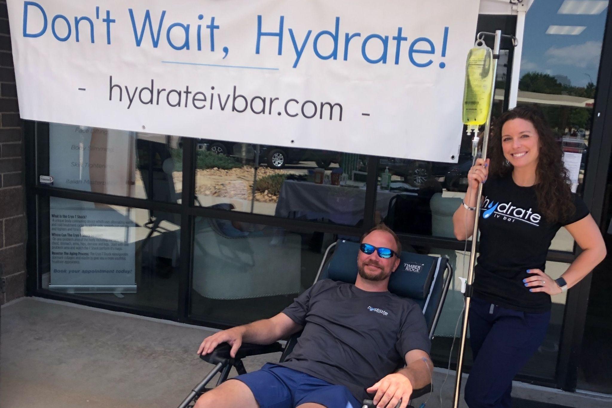 Hydrate IV Bar Membership